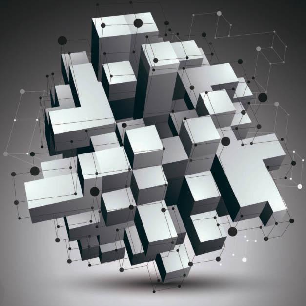 Кубы в пространстве