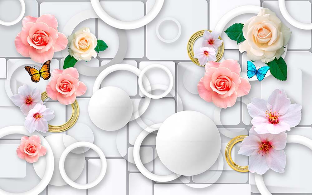 Розы 3Д