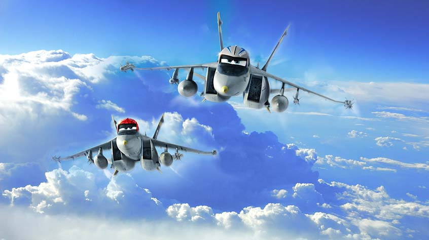 Летачки в небе