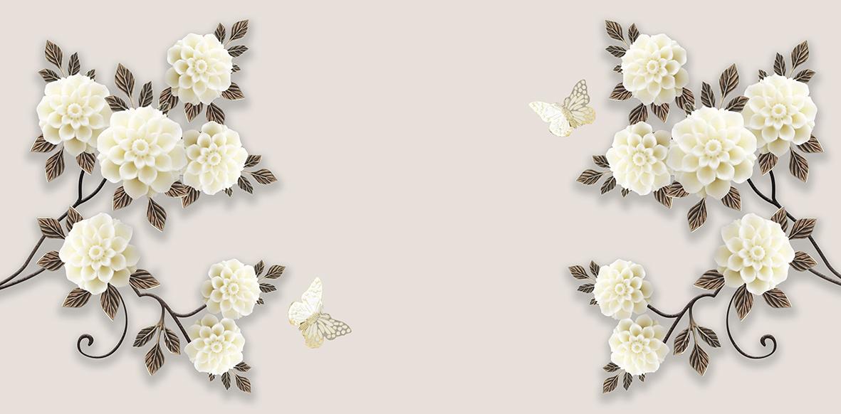 Акриловые цветы