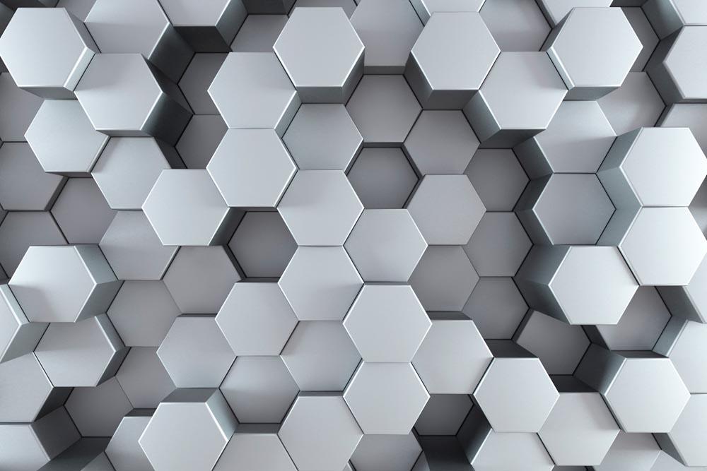 зд шестиугольники