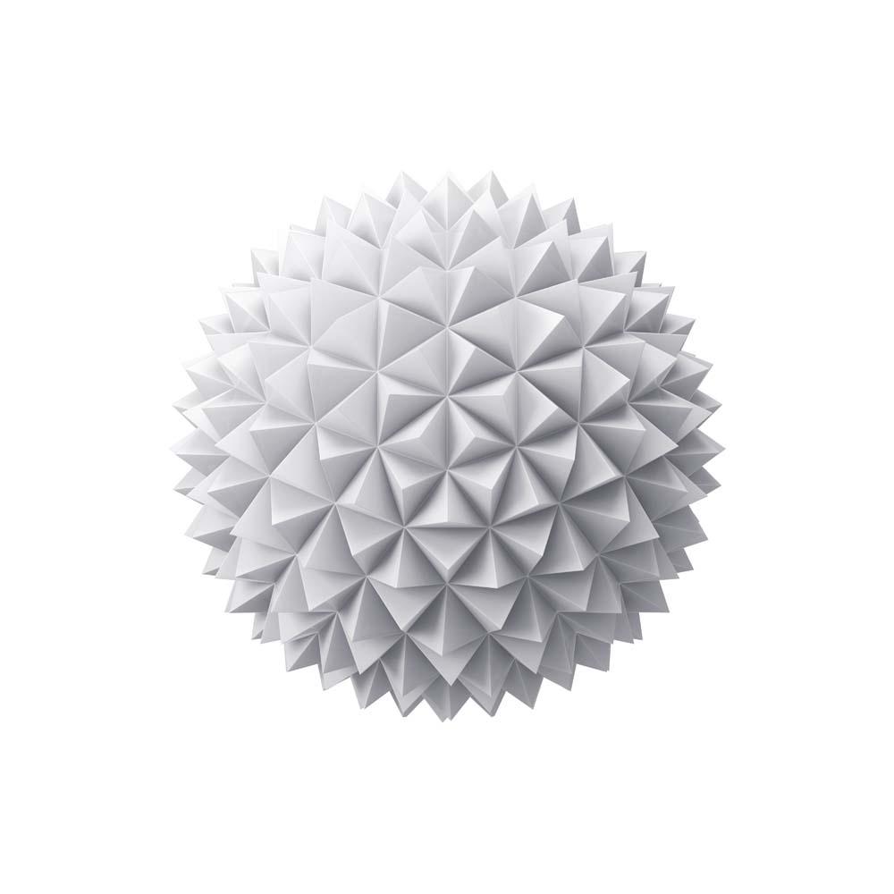 Белый шар ежик