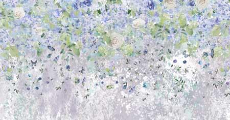 Стена и цветы