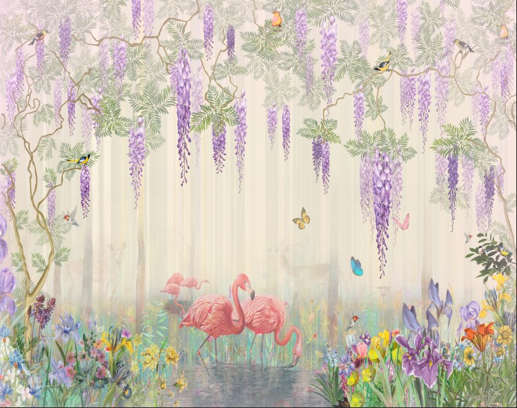 Фламинго и сказочный лес