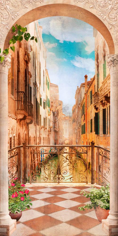 Арка с видом на Венецию