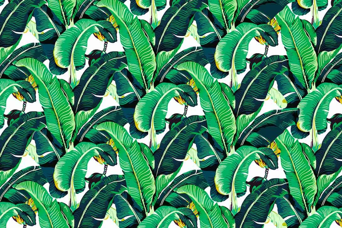 Листья паттеррн