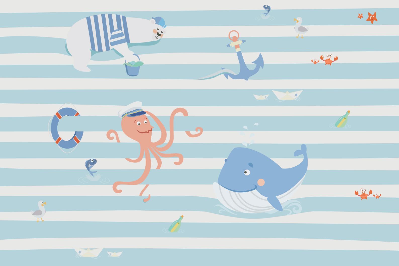 Морские жвотные