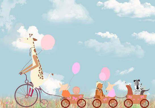 Веселый велосипед