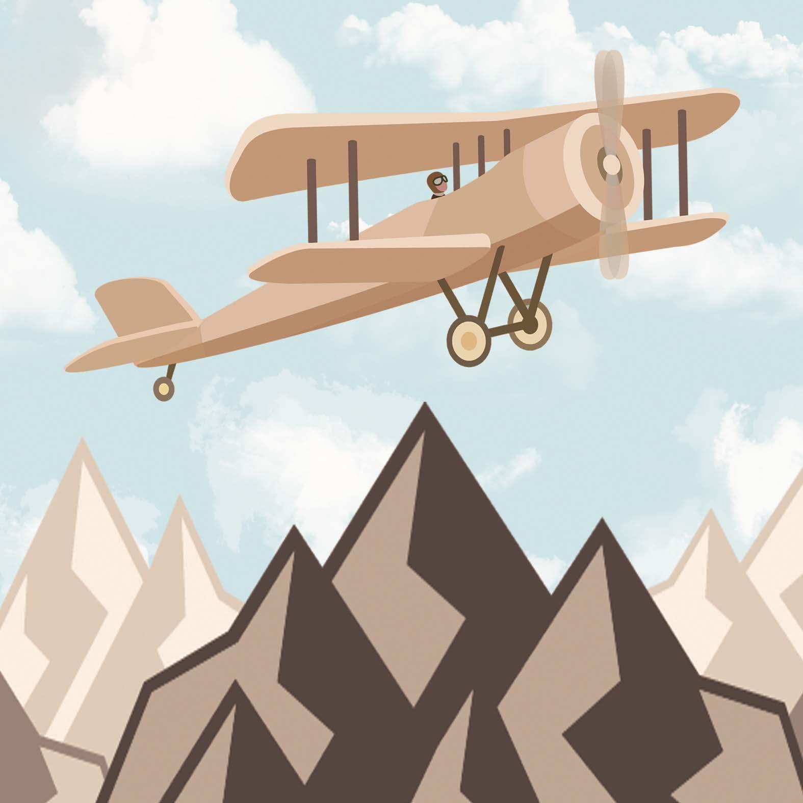 Полет над горой