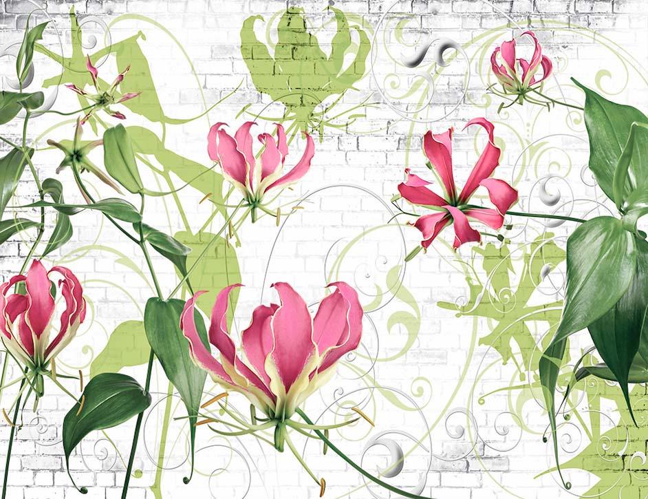 Абстракция с растений