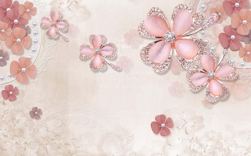 Цветы и драгоценности