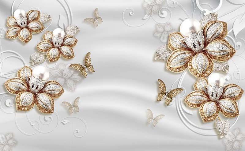 Бриллианты из цветов
