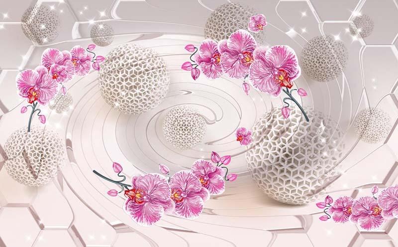 Круги с цветами