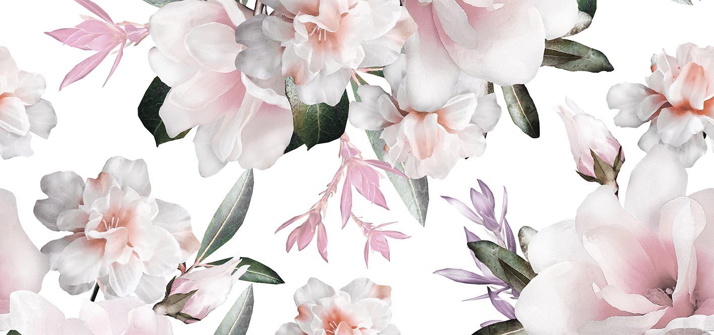 Абстракция с цветов