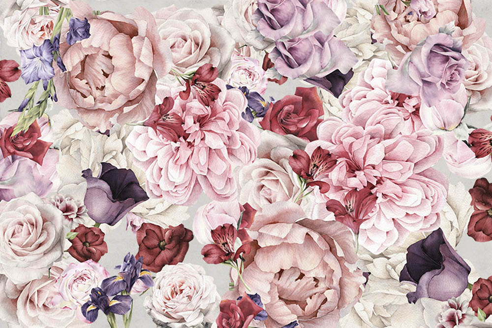 Фон из нежных цветов