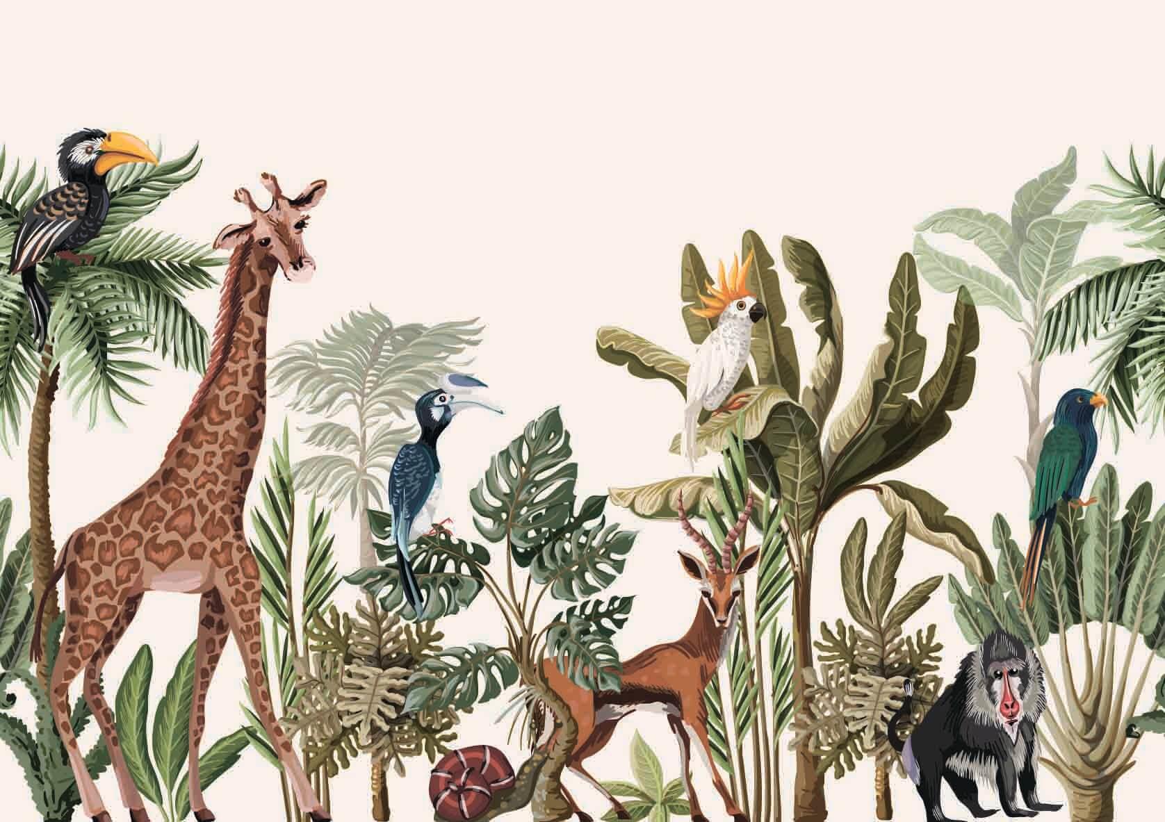 Тропики с животными