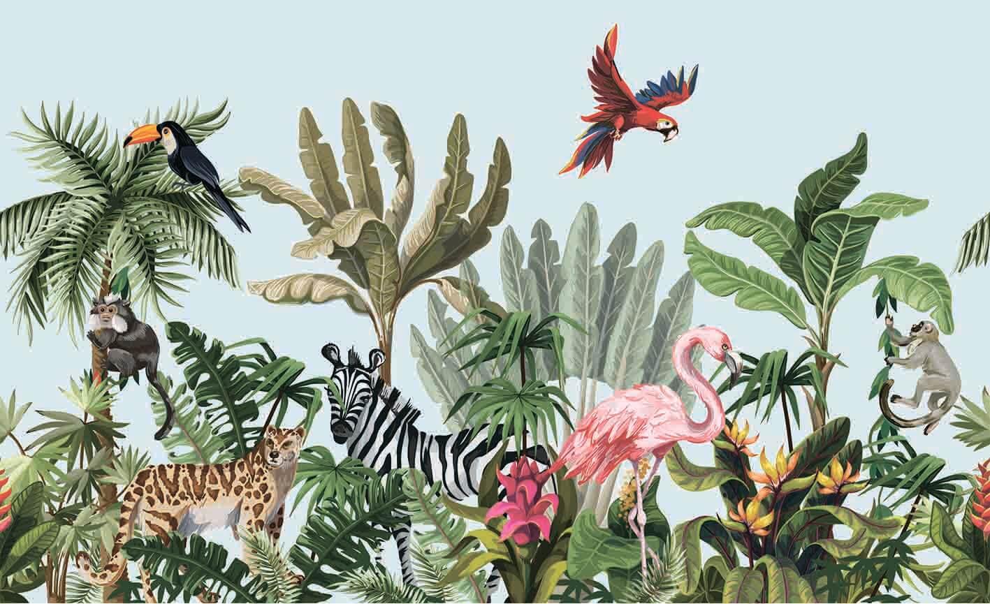 Сафари в джунглях