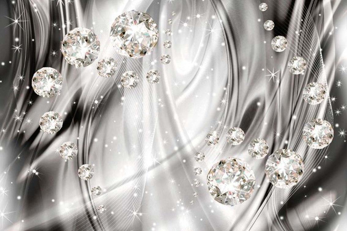 Абстракция с бриллиантами