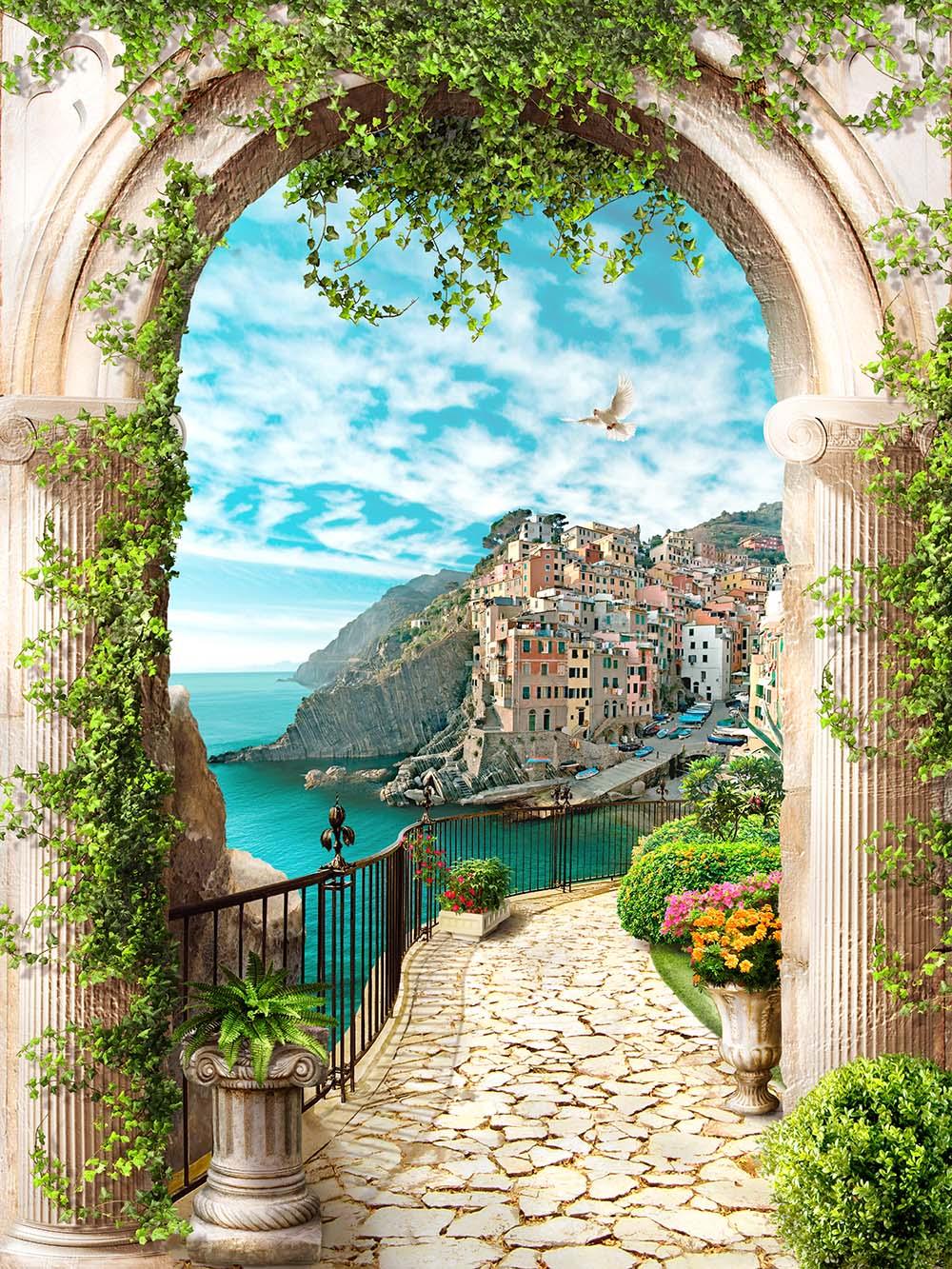 Фреска с видом на Портофино