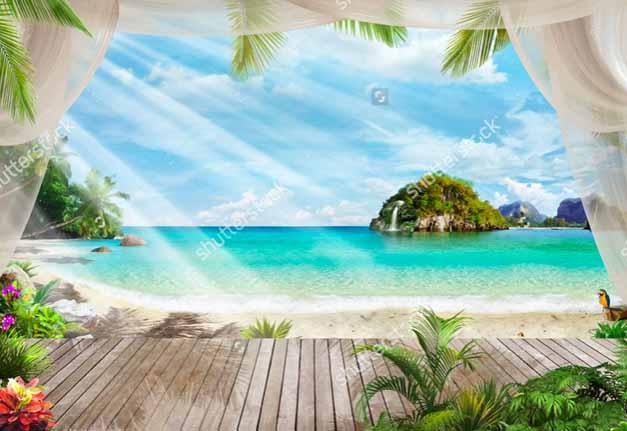 Терраса на пляже