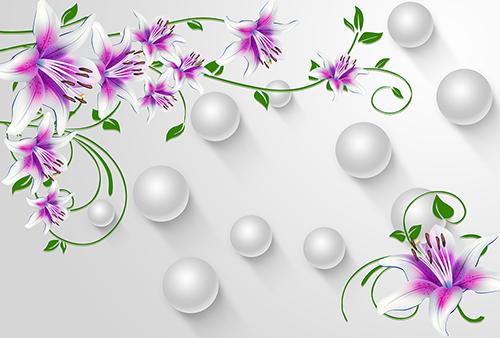 Цветы и шары