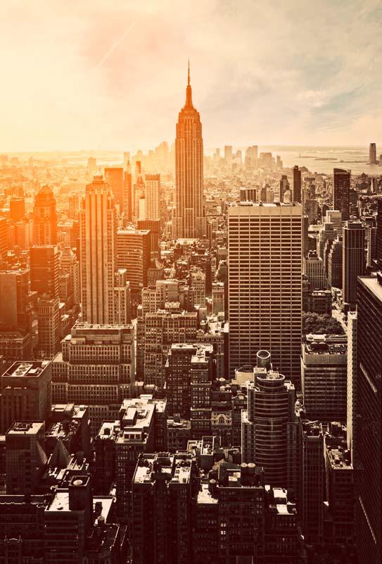 Вид на Нью-Йорк