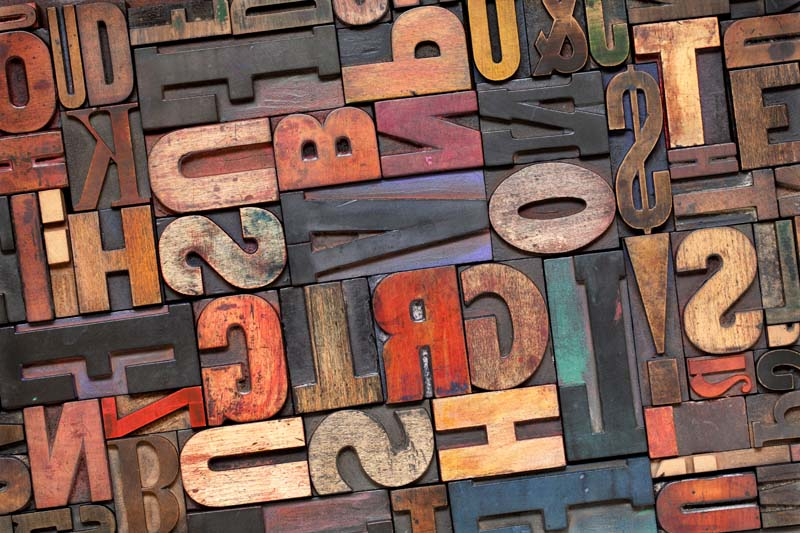 3Д буквы