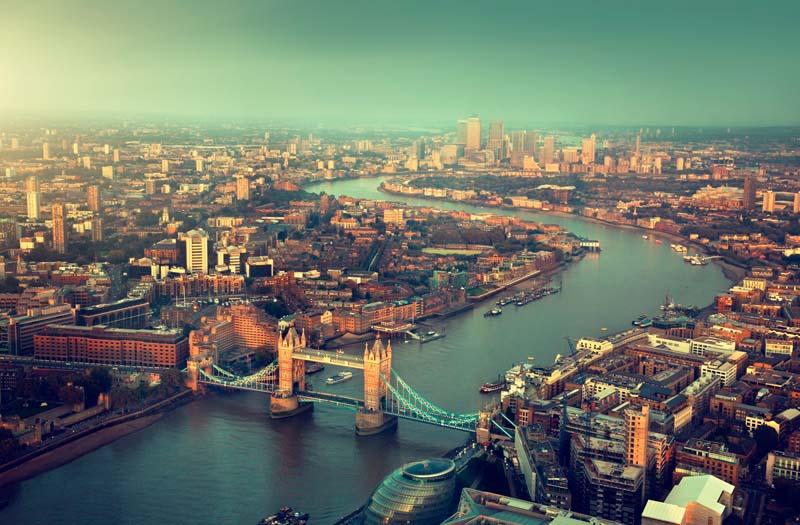 Вид на Лондон