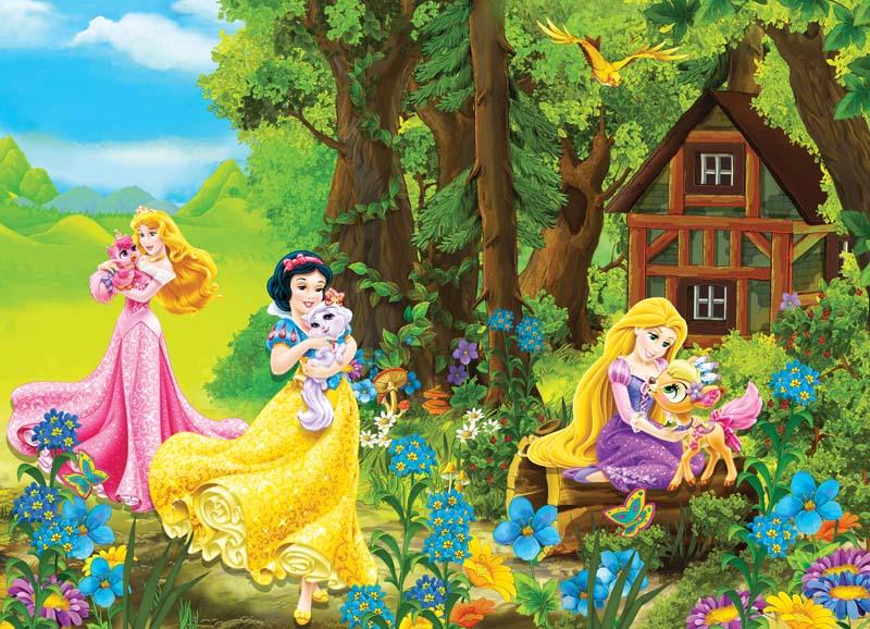 Принцессы на поляне
