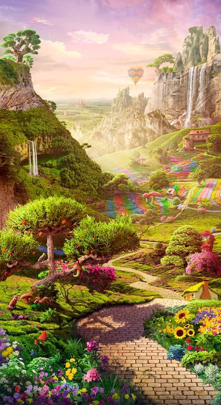 Долина растений