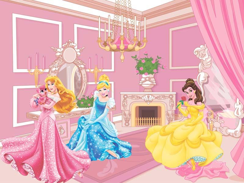 Принцессы в замке