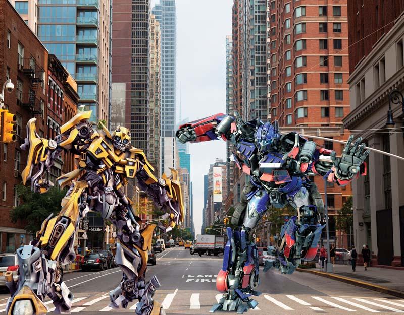 Трансформеры в городе