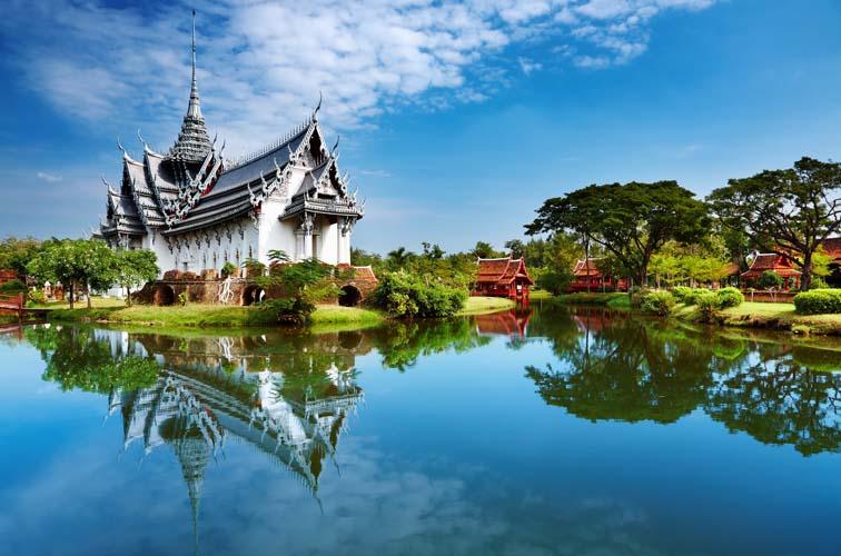 Дворец в восточном стиле