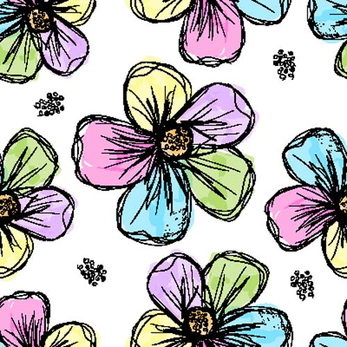 Цветочный паттерн