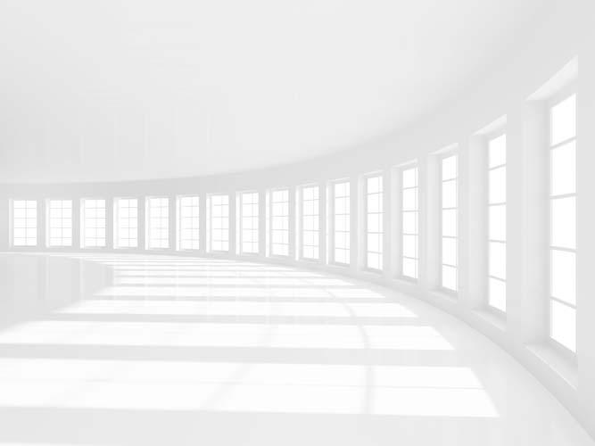 Тоннель с окнами