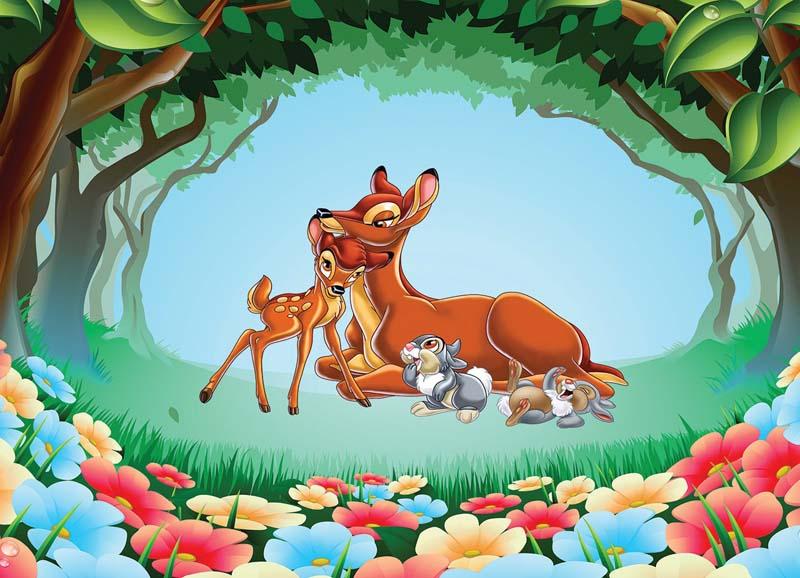 Бемби и малыш