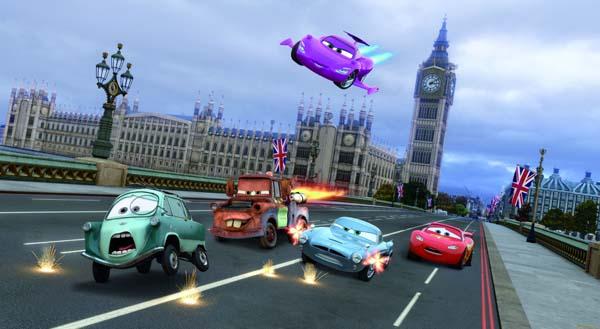 Тачки в Лондоне