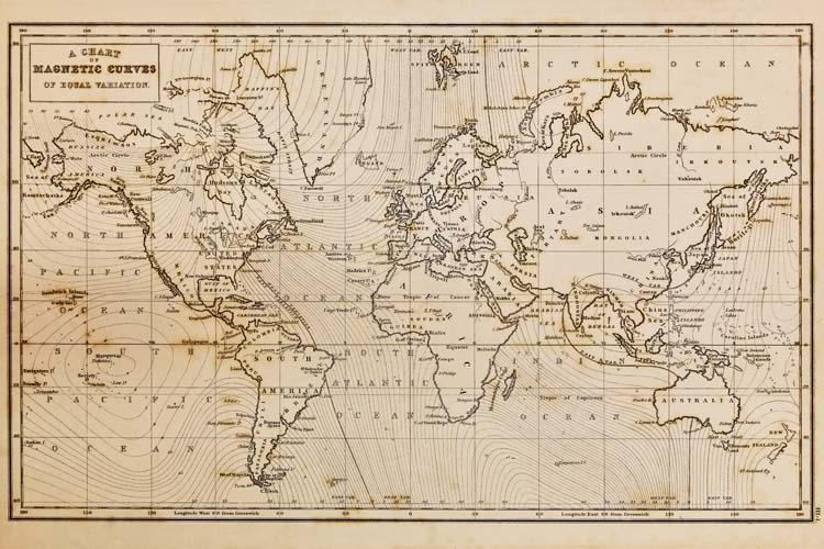 Древняя карта