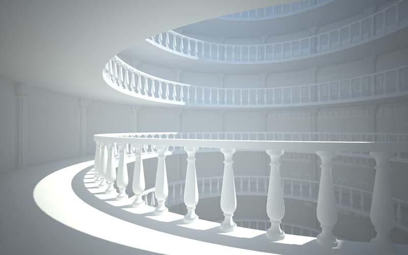 3D балкон