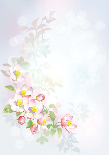 Рисованные цветы