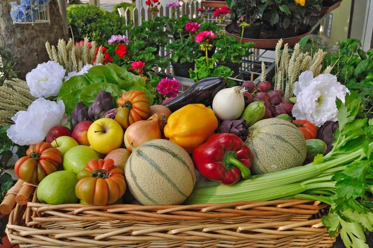 Корзинка овощей