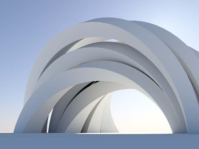 3D арка