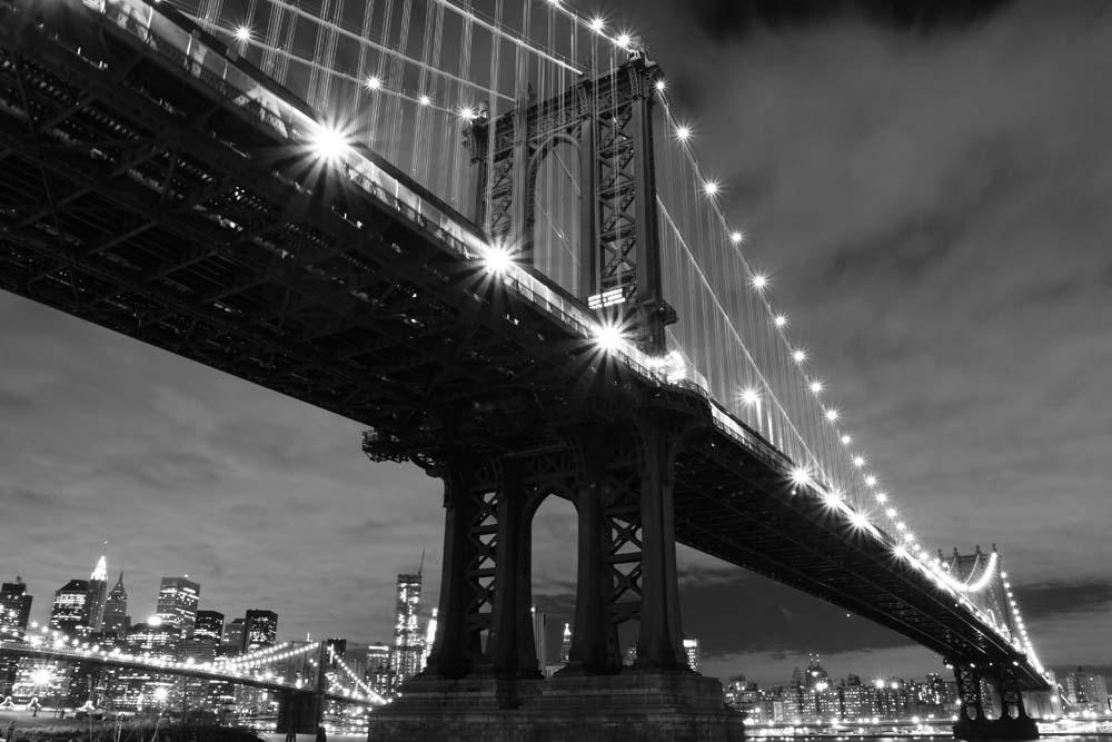 Черно-белый  мост