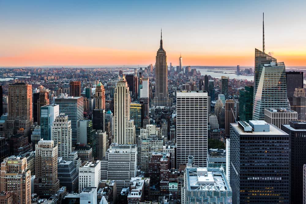 Нью Йорк с высоты