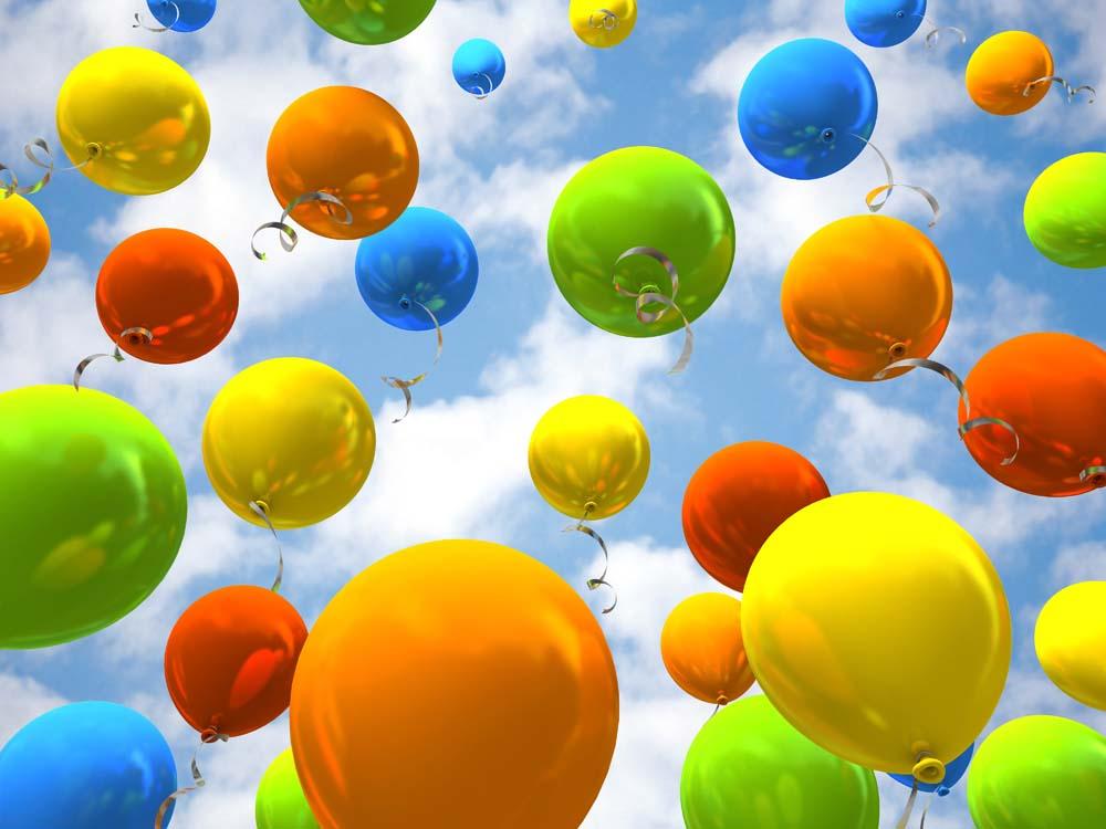 Цветный шары