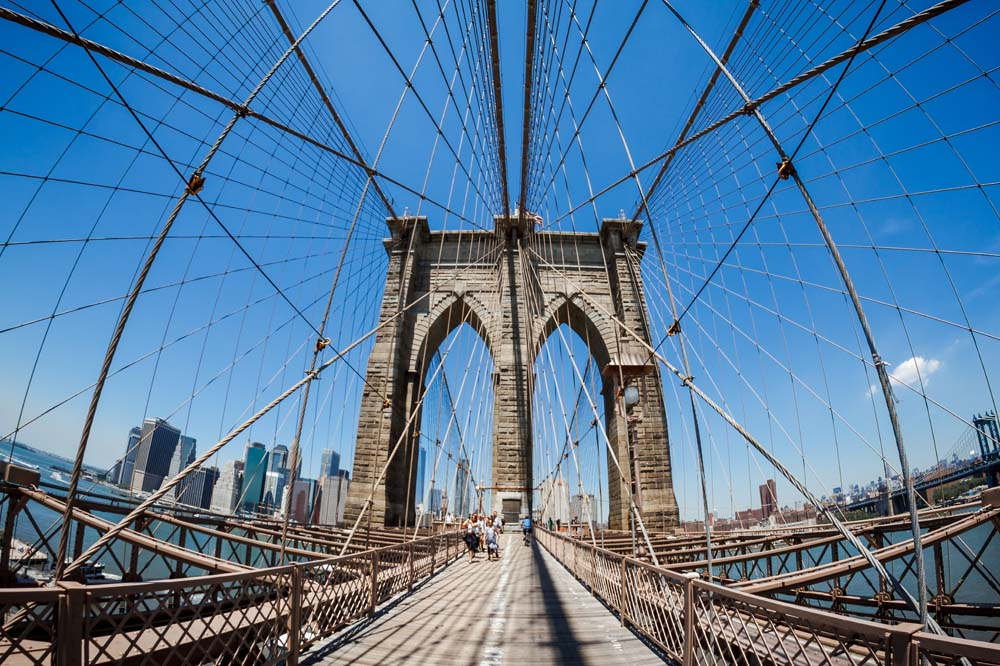 Нью йорк бруклинский мост фотообои 4