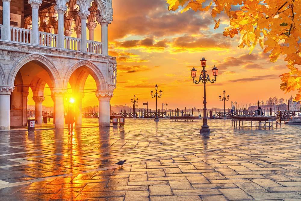 Площадь в Венеции