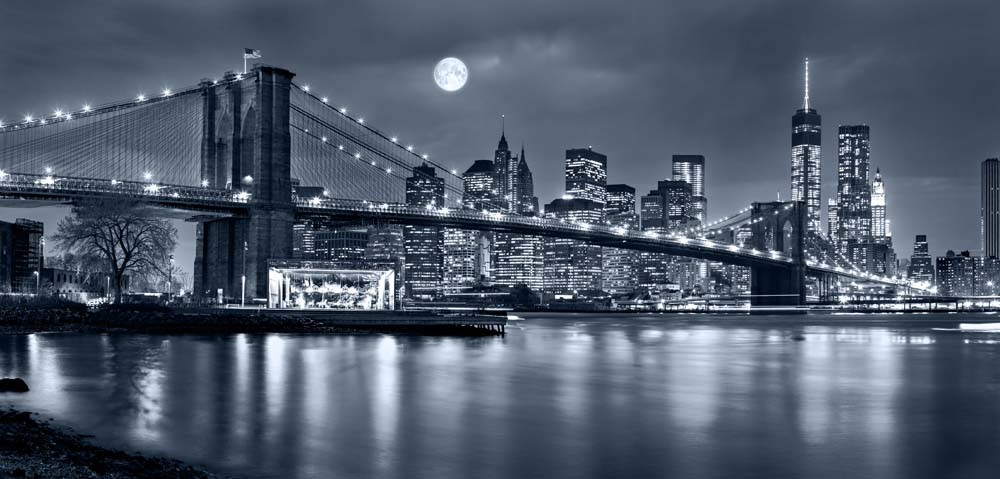 Панорама Нью Йорк