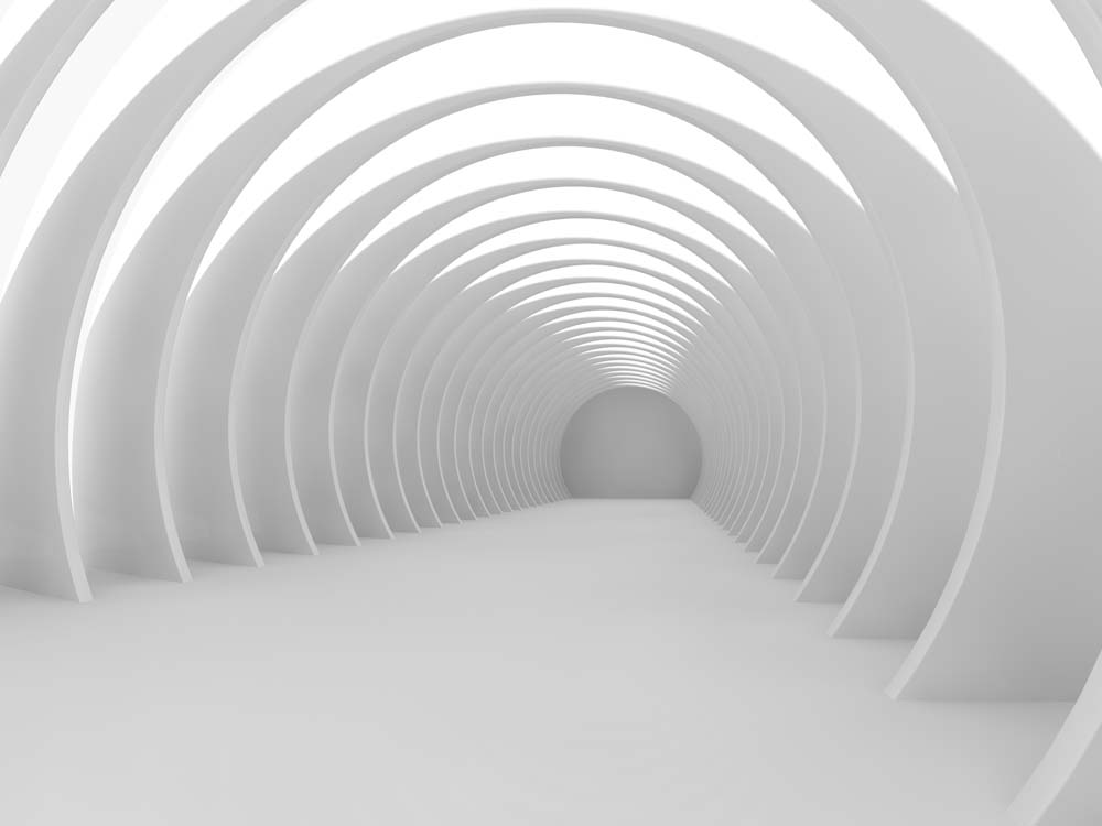 3D тоннель