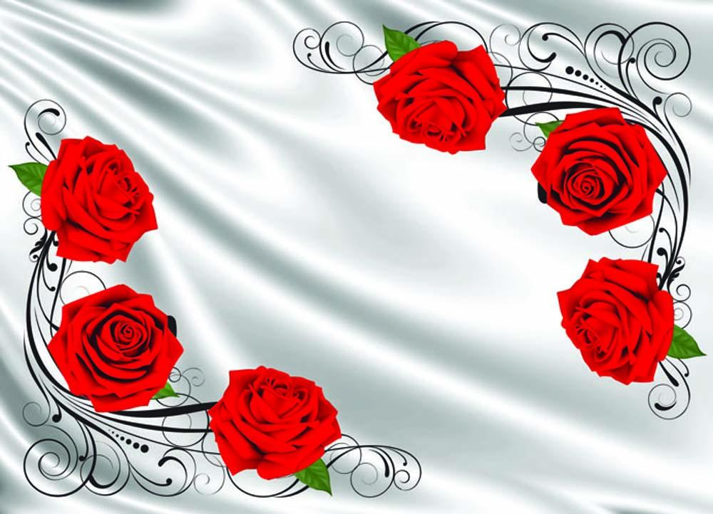 Розы и вензеля